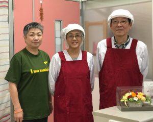 代表の廣田和彦さん(右)とスタッフのみなさん