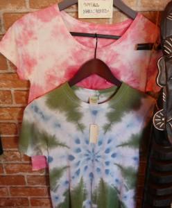 「スタリーアイド」のTシャツ。ベビーの70㎝からレディース・メンズのXLまで