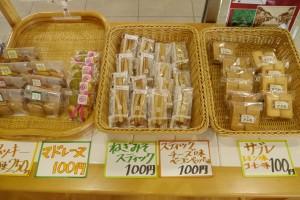 サブレや焼き菓子も人気