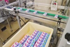 「液体ムヒ」の包装工程