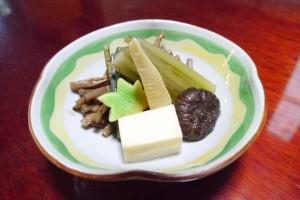 山菜の煮物(640円)