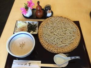 くるみだれ蕎麦(1,050円)