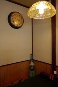 趣ある電灯と時計