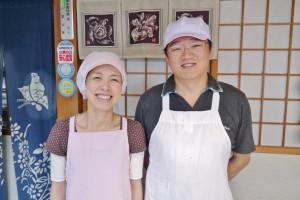 森さん(右)と奥さんの知子さん