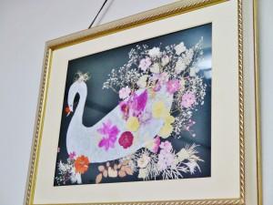 宍戸さんの趣味の押し花
