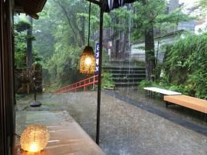 雨の日にも風情がある