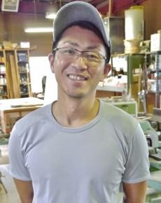 専務 平井拓磨さん(36)
