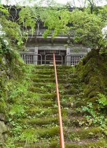 町指定文化財の山門