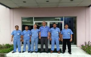 現地スタッフが中心のインドネシア工場