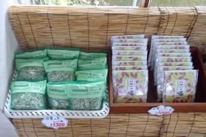 メグスリノキのお茶(1,000円~)