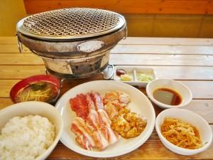 しちりん定食Aセット(税込980円)