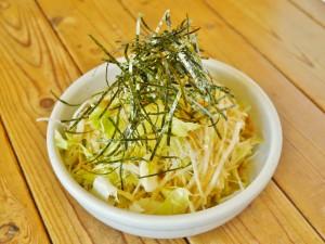 からししサラダ(税別484円)