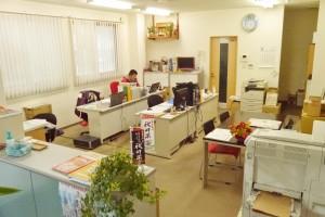 整理整頓され、入りやすい印象の事務所