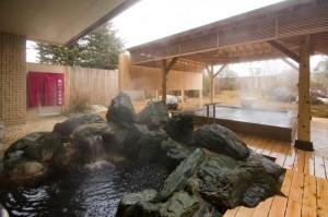 美肌効果のある天然温泉