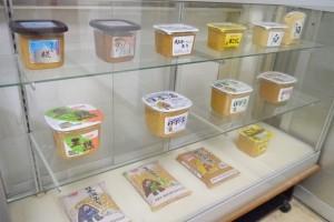日本海みそ商品の一部