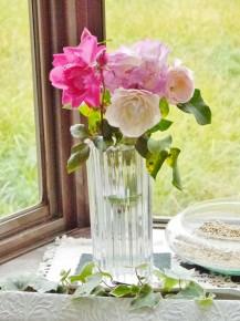 花もお客さんからのプレゼント