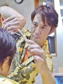 マスター 晴柀 武司さん(42)