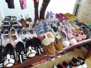 個性的なデザインがかわいい子どもの靴