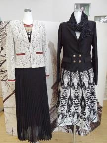 海外製でデザイン性の高い婦人服