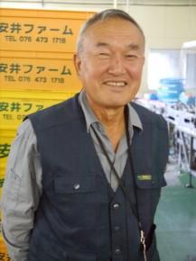 代表 安井宗義さん(71)