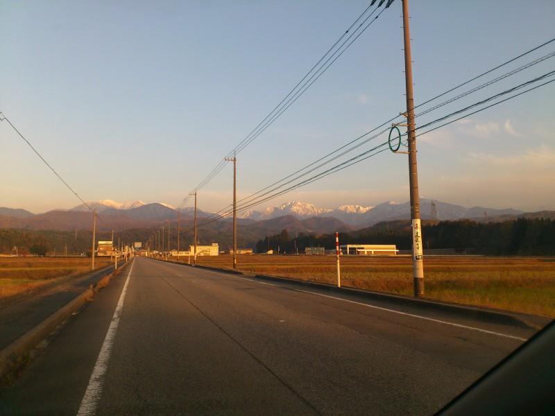 つるぎの山々