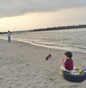 釣りの様子