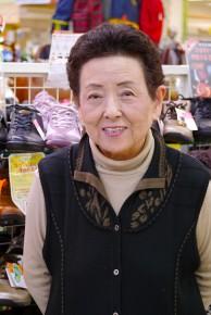 代表取締役 平井 和恵さん(80)
