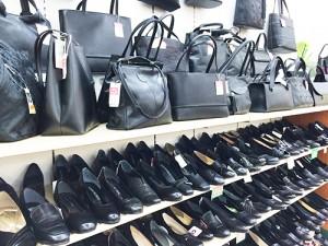 フォーマルバッグと靴