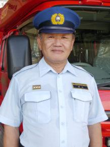 上市消防署長 井上寛さん