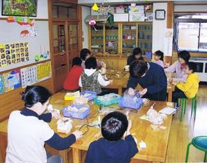 上市町こどもの城での工作教室