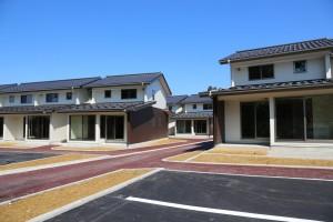 設計等の技術提案から行った白萩西部町営住宅