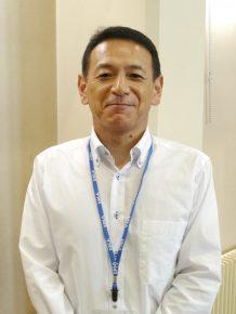 上市営業部 部長 谷口昌通さん
