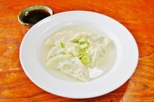 お豆腐のヘルシー水ギョーザ(400円)
