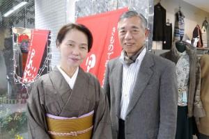 代表 小森 武次さん(右)と奥様・はる美さん