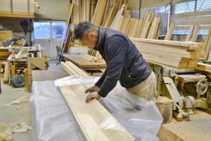 木材の加工・建築も行っている