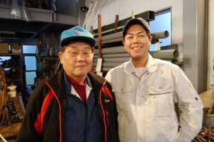 代表 武田文博さん(左)と武田貴文さん