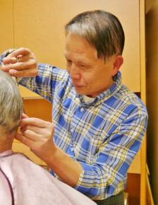 代表の中山三郎さん(73)