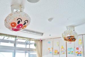 天井の扇風機カバーは子どもの大好きなキャラクター