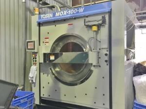 1回に100㎏洗える全自動洗濯機