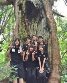 エコ実習で上市町を訪れた東京校の学生