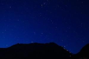 立山から見る星空(山田さん撮影)