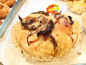 4種のきのこパン210円(税抜き)