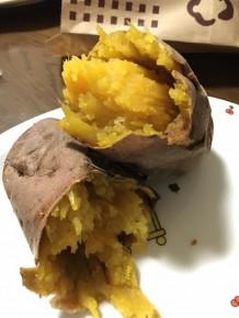 上野さんの焼き芋