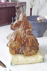 薬師神社のご神体「神農像」