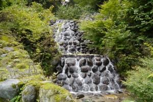 白岩川水系 桧谷川の第2号砂防堰堤
