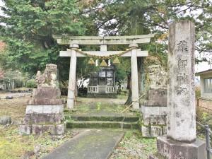 三杉公園の中にある薬師神社