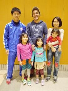 加藤成敬さん・直美さん家族