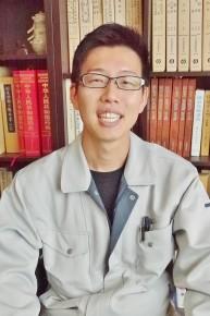 取締役業務部長 櫻田紘一さん(34)