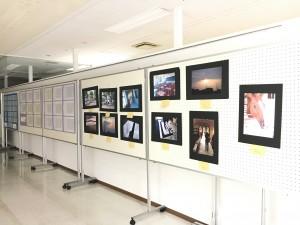 上市高校生の作品展示