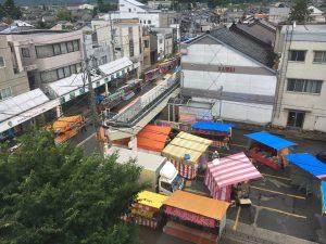 カミール4階からの景色
